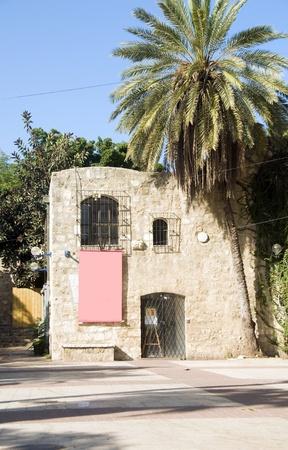 텔 아비브 이스라엘 옛 Saraya 건물의 고고학 자파 유물 박물관 스톡 콘텐츠 - 14147223