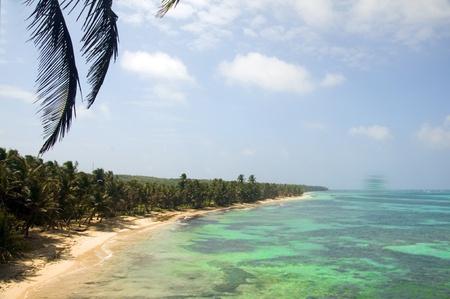 undeveloped Iguana Beach Little Corn Island Nicaragua Central America on Caribbean Sea Stock Photo - 19154306