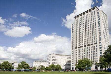 An highrise building at London, UK Stock Photo