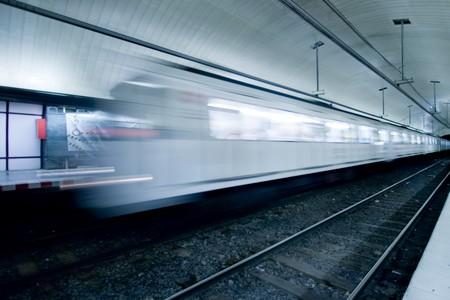 underground metro station at London, Uk Stock Photo
