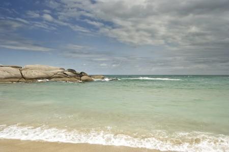 A beautiful beach called Praia Mole at Florianopólis, Brazil