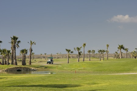 A beautiful golf course at Algarve, south of Portugal
