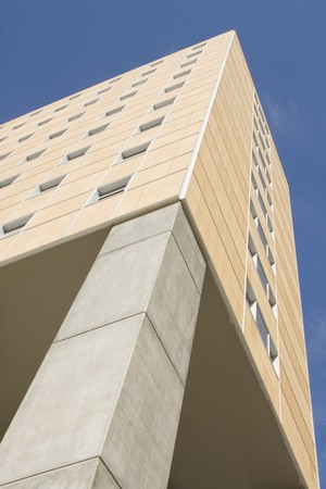 Modern office building on a background of blue sky Stock Photo - 4388246