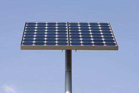 alternative energy sources: Alternative energy sources - photocell board. Stock Photo