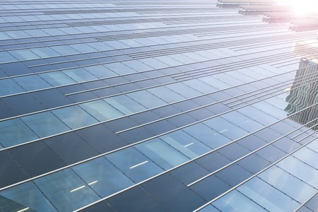 Abstract background of modern building windows Stock Photo - 4406608