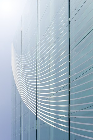 Abstract background of modern building windows Stock Photo - 4406599