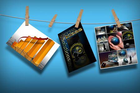 obligaciones: Diversos conceptos de comercializaci�n de ropa colgando l�nea