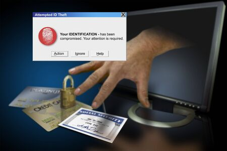 retrieve: Identity theft on the web with credit cards and social security