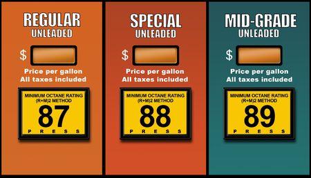 concept images: Concetto immagini raffiguranti elevato dei prezzi del carburante
