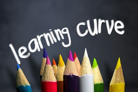 teaching crayons: A bordo di gesso si trovano in una classe