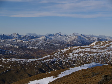 mountainscape: Ben Lomond from Ben Ledi