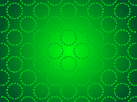 green power: green abstract background, particles circles Stock Photo