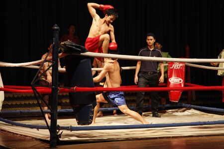 Thai boxing  Stock Photo - 12994250