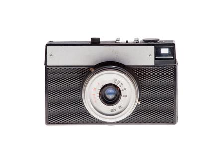 Vintage analogique film caméra fond isolé Banque d'images - 71925524