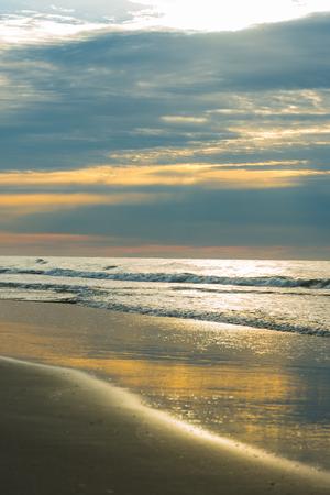 Sunrise at beach Hilton Head Island SC. Stock Photo
