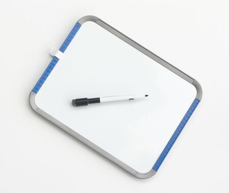 dry erase: Dry erase board with pen