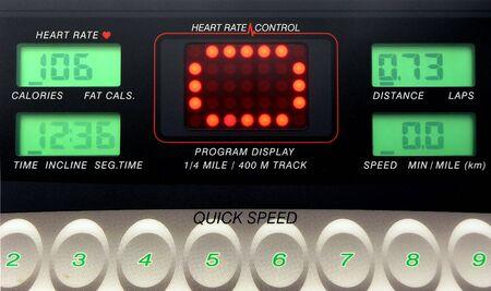 uitoefening machine elektronische bedieningspaneel
