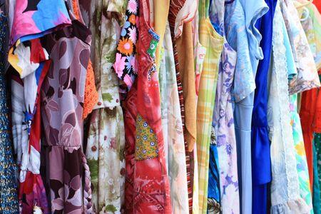 Colorful Vintage Clothing Zdjęcie Seryjne