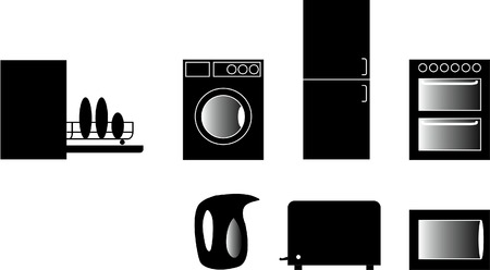 Kitchen Icons Set  Stock Vector - 2073913