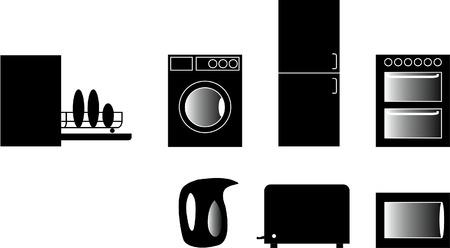Kitchen Icons Set Stock Vector - 2073913