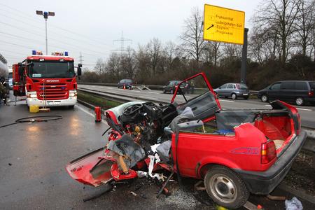 lesionado: Accidente de tráfico pesado