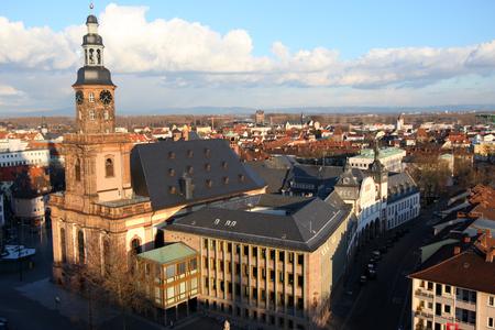 gusanos: Worms Alemania Holy Trinity Church Foto de archivo