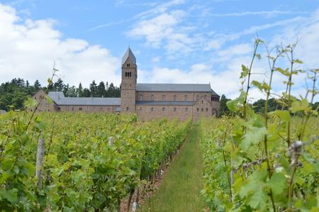 friaries: Abbey St. Hildegard near Ruedesheim am Rhein Germany