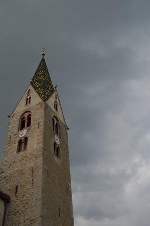 tirol: Churches of Villanders, the parsonage parish church