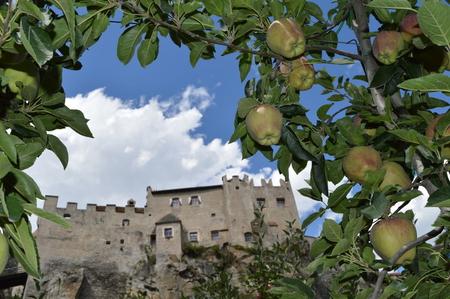 tyrol: Castle Kastelbell-Tschars, Castelbello-Ciardes, South Tyrol Stock Photo