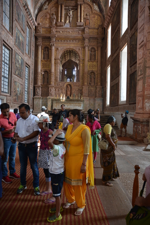 francis: Old Goa, India - October 22, 2015 - Church of St. Francis Of Assisi