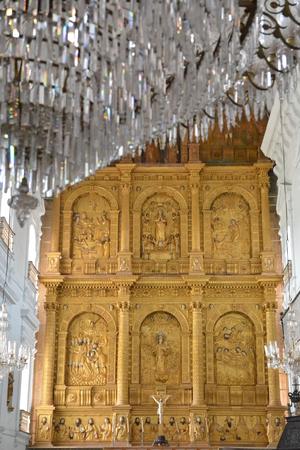Goa, India - October 22, 2015 - Se cathedral in Goa