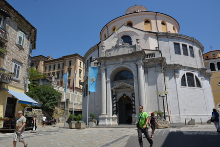 Rijeka, Croatia - June 12, 2017 - St. Vitus church in Rijeka, Croatia Imagens - 81824181