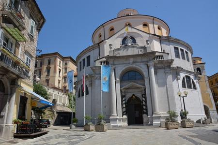 Rijeka, Croatia - June 12, 2017 - St. Vitus church in Rijeka, Croatia
