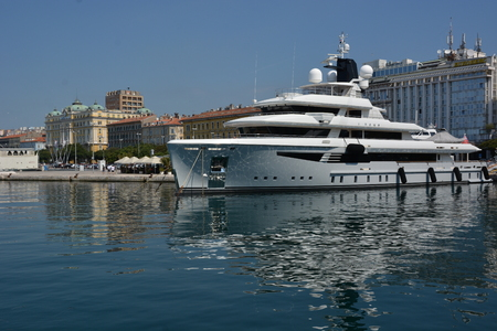 Rijeka, Croatia - June 12, 2017 - Rijeka in Croatia Sajtókép