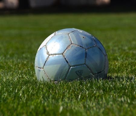 Solo Soccer Ball Stok Fotoğraf