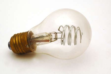 incandescent: bulb Stock Photo