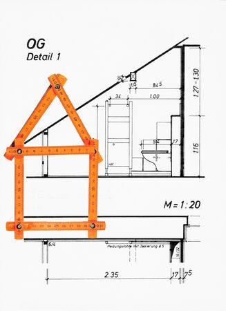 floor plan Standard-Bild