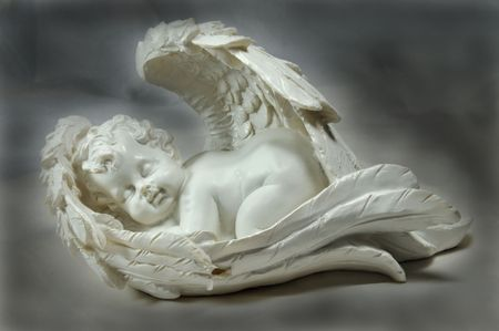 sleeping angel