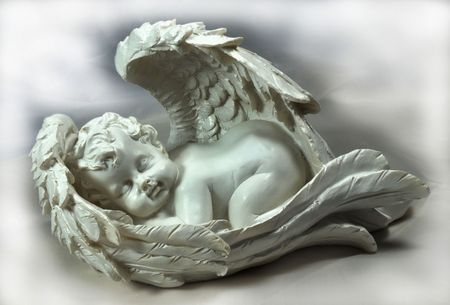 headstones: sleeping angel
