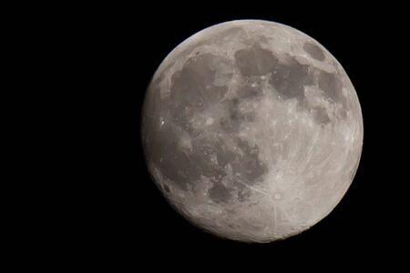 Volle maan Stockfoto