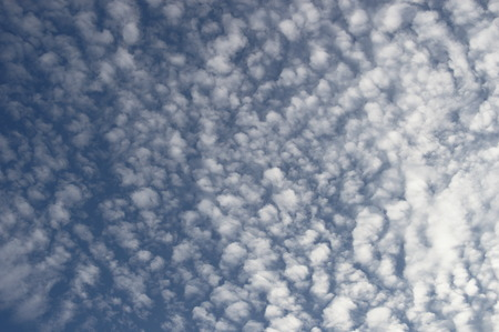 Small clouds on a beautiful sky