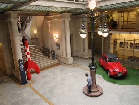 victor: Hall of the national comic museum in Brussels, Belgium Editorial