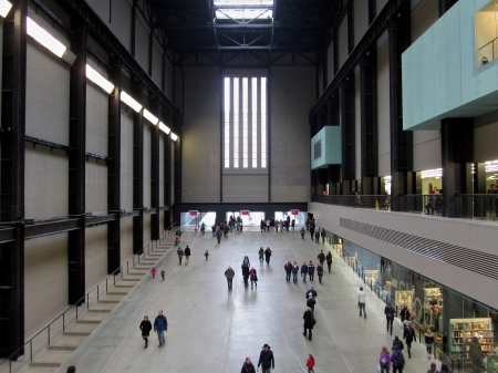 London s Tate Modern Hall