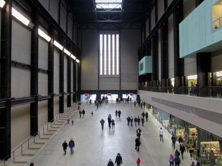 London s Tate Modern Hall Sajtókép