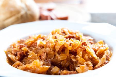 Bigos - traditional Polish cuisine dish