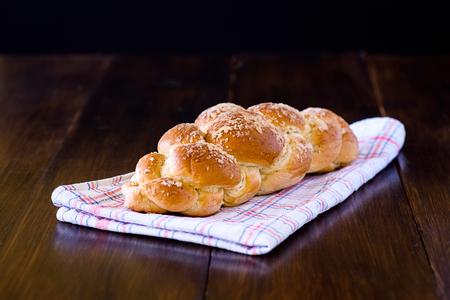 shabbat: Challah bread is tasty, not only on the Sabbath Stock Photo
