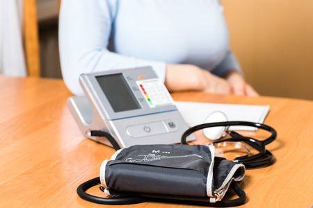 self contained: Self-contained blood pressure measurement at home