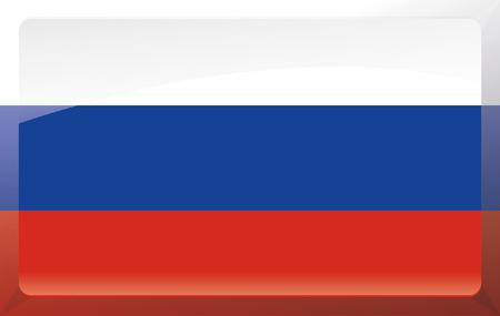 Russia flag Illustration