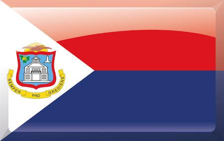 Sint_Maarten flag Illustration