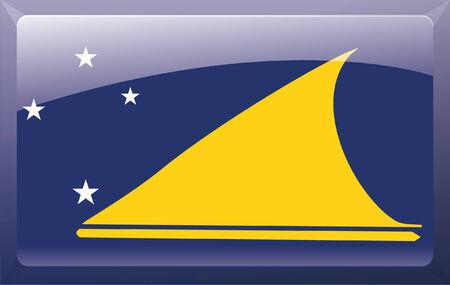 oceania: Tokelau flag